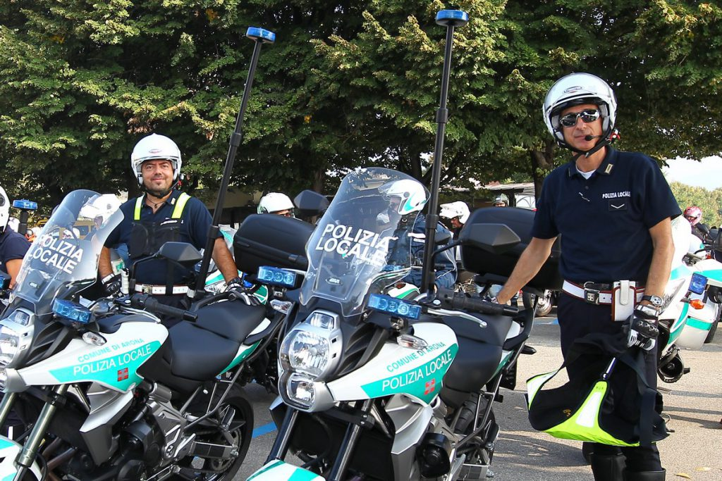 Primo motoraduno delle Polizie Locali piemontesi